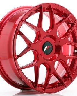 JR Wheels JR18 17×7 ET20-40 BLANK Platinum Red
