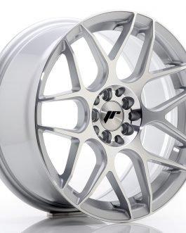 JR Wheels JR18 17×8 ET35 4×100/114 Silver Machined Face