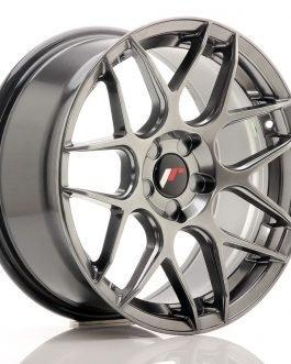 JR Wheels JR18 17×8 ET35 5H BLANK Hyper Black