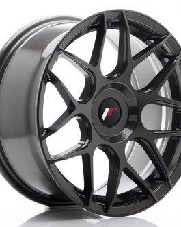JR Wheels JR18 17×8 ET35 BLANK Hyper Gray