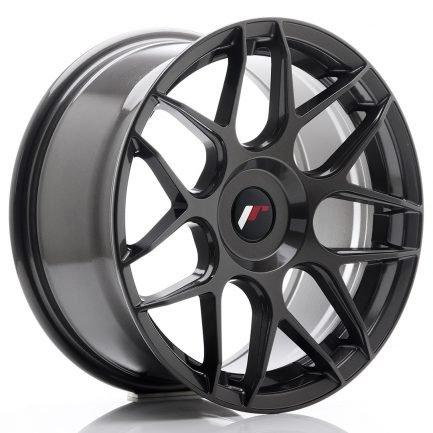 JAPAN RACING JR Wheels JR18 17x8 ET35 BLANK Hyper Gray 8.00x17
