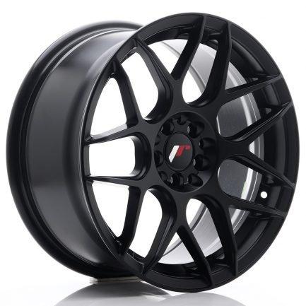 JAPAN RACING JR Wheels JR18 17x8 ET25 4x100/108 Matt Black 8.00x17