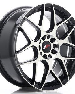 JR Wheels JR18 18×7,5 ET40 5×112/114 Gloss Black Machined Face