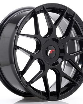 JR Wheels JR18 18×7,5 ET25-40 BLANK Glossy Black
