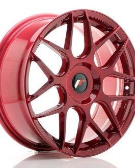 JR Wheels JR18 18×7,5 ET25-40 BLANK Platinum Red