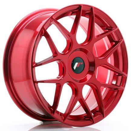 JAPAN RACING JR Wheels JR18 18x7,5 ET25-40 BLANK Platinum Red 7.50x18