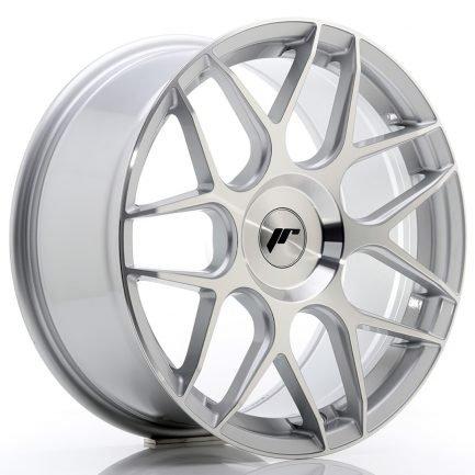JAPAN RACING JR Wheels JR18 18x8,5 ET25-45 BLANK Silver Machined Face 8.50x18
