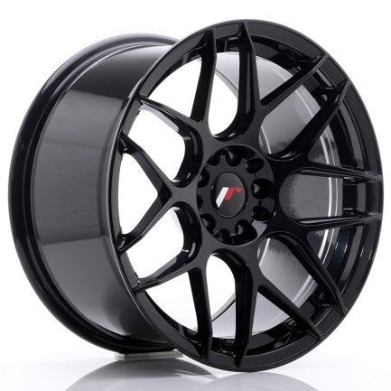 JAPAN RACING JR Wheels JR18 18x9,5 ET22 5x114/120 Glossy Black 9.50x18