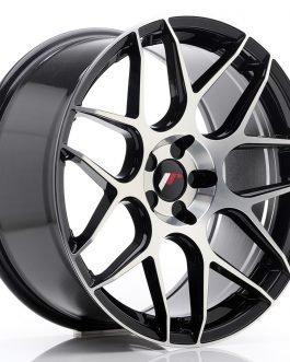 JR Wheels JR18 19×8,5 ET20-42 5H BLANK Gloss Black Machined Face