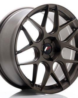 JR Wheels JR18 19×8,5 ET20-42 5H BLANK Matt Bronze