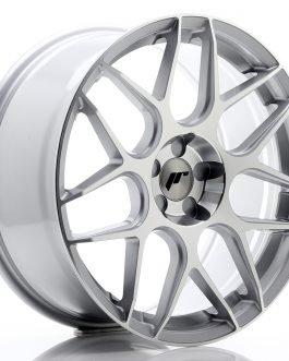 JR Wheels JR18 19×8,5 ET35-42 5H BLANK Silver Machined Face