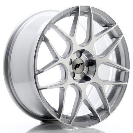 JAPAN RACING JR Wheels JR18 19x8,5 ET35-42 5H BLANK Silver Machined Face 8.50x19