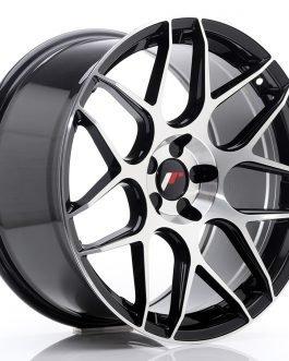 JR Wheels JR18 19×9,5 ET35 5H BLANK Gloss Black Machined Face
