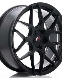 JR Wheels JR18 20×8,5 ET20-40 5H BLANK Matt Black