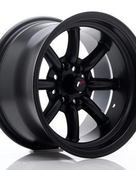 JR Wheels JR19 15×9 ET-13 4×100/114 Matt Black