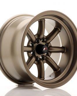 JR Wheels JR19 15×9 ET-13 4×100/114 Matt Bronze