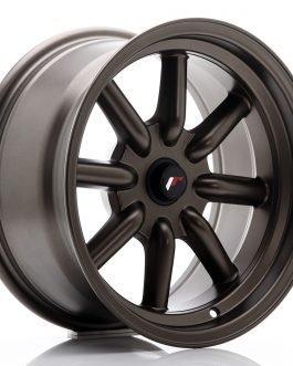 JR Wheels JR19 16×8 ET-20-0 BLANK Matt Bronze