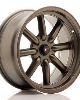 JR Wheels JR19 17×8 ET-20-0 BLANK Matt Bronze