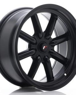 JR Wheels JR19 17×8 ET-20-0 BLANK Matt Black