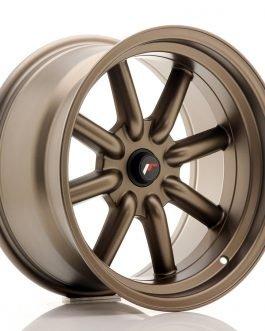 JR Wheels JR19 17×9 ET-25-(-10) BLANK MatBronze