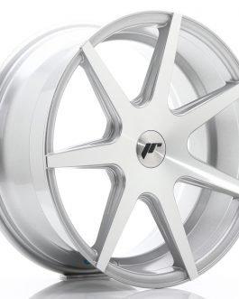 JR Wheels JR20 18×8,5 ET25-40 BLANK Silver Machined Face