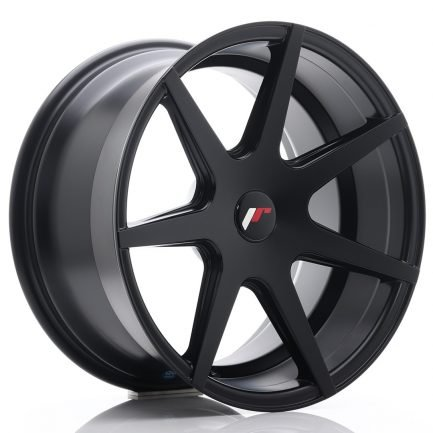 JAPAN RACING JR Wheels JR20 18x9,5 ET20-40 BLANK Matt Black 9.50x18