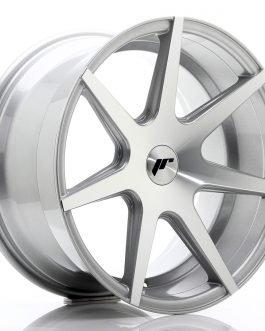 JR Wheels JR20 18×9,5 ET20-40 BLANK Silver Machined Face