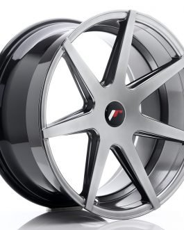JR Wheels JR20 20×10 ET20-40 5H BLANK Hyper Black