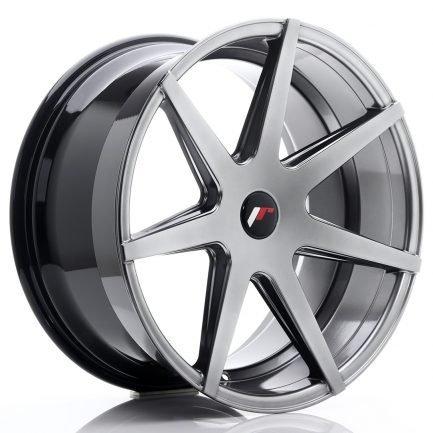 JAPAN RACING JR Wheels JR20 20x10 ET20-40 5H BLANK Hyper Black 10.00x20