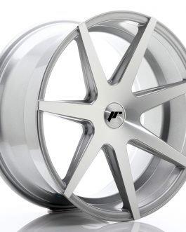 JR Wheels JR20 20×10 ET20-40 5H BLANK Silver Machined Face