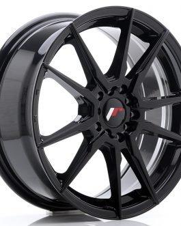 JR Wheels JR21 17×7 ET40 5×108/112 Glossy Black