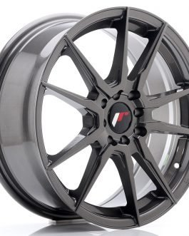 JR Wheels JR21 17×7 ET40 5×108/112 Hyper Gray
