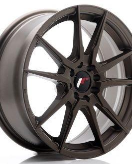 JR Wheels JR21 17×7 ET40 5×108/112 Matt Bronze