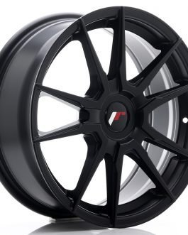 JR Wheels JR21 17×7 ET25-40 BLANK Matt Black