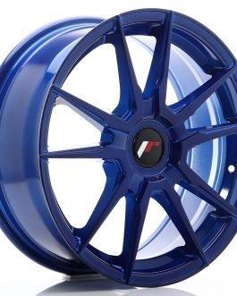 JR Wheels JR21 17×7 ET25-40 BLANK Platinum Blue