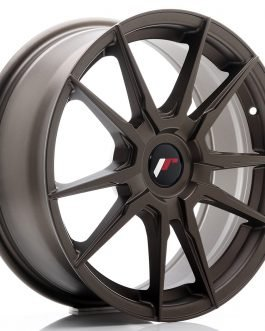JR Wheels JR21 17×7 ET25-40 BLANK Matt Bronze