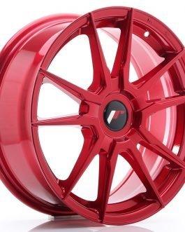 JR Wheels JR21 17×7 ET35-40 BLANK Platinum Red