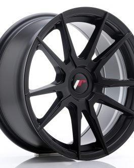 JR Wheels JR21 17×8 ET35 BLANK Matt Black