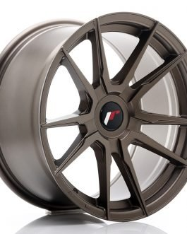 JR Wheels JR21 17×9 ET25-35 BLANK Matt Bronze