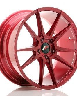 JR Wheels JR21 18×8,5 ET40 5×112 Platinum Red