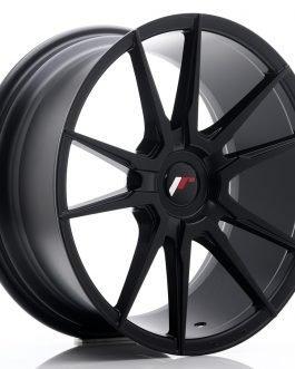 JR Wheels JR21 18×8,5 ET20-40 Blank Matt Black