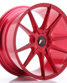 JR Wheels JR21 18×8,5 ET20-40 BLANK Platinum Red