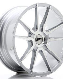 JR Wheels JR21 18×8,5 ET20-40 BLANK Silver Machined Face