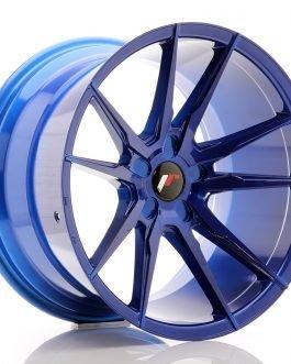 JR Wheels JR21 19×11 ET15-30 5H BLANK Platinum Blue