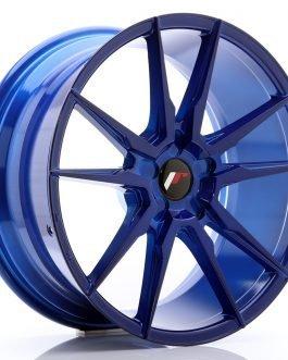 JR Wheels JR21 19×8,5 ET20-43 5H BLANK Platinum Blue
