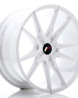 JR Wheels JR21 19×9,5 ET20-40 5H BLANK White