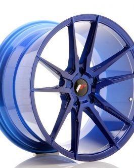 JR Wheels JR21 20×11 ET20-30 5H BLANK Platinum Blue