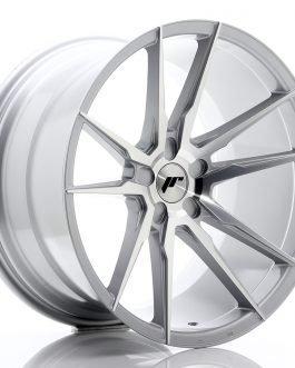 JR Wheels JR21 20×11 ET20-30 5H BLANK Silver Machined Face