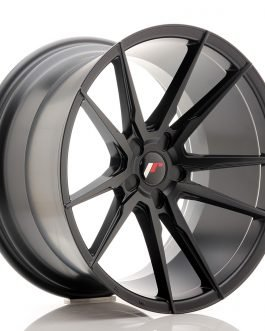 JR Wheels JR21 20×11 ET30-50 5H BLANK Matt Black
