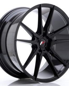 JR Wheels JR21 21×10 ET15-48 5H BLANK Glossy Black